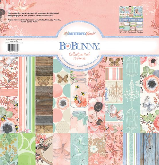 Bo Bunny Butterfly Kisses Collection Pack