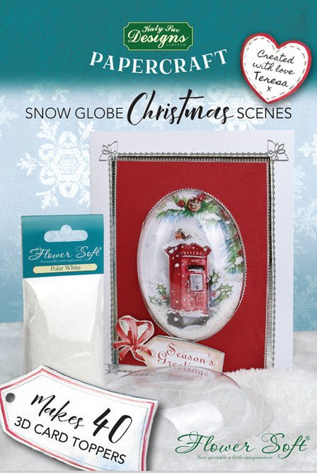 Katy Sue Designs Flower Soft Choice of Designs Card Toppers inc XMAS