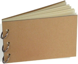"7Gypsies 20PG KRAFT-RING BOOK KIT 5""X7"" (7G-10036)"