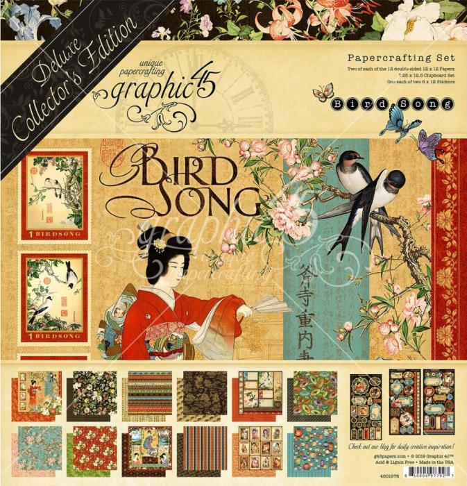 PRE-ORDER: Graphic 45 DeLuxe Edition: BIRD SONG