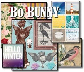 Bo Bunny Papers and Embellishments