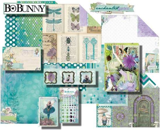 Bo Bunny Enchanted Garden Collection