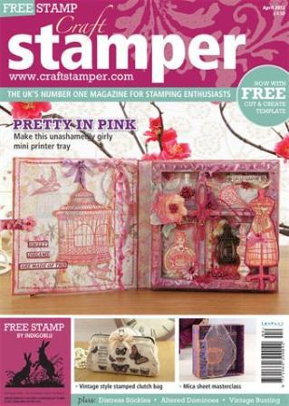 Craft Stamper Magazine April