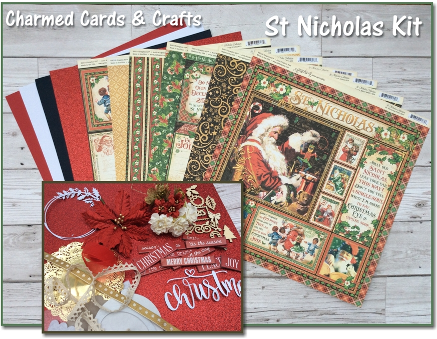 Charmed Cards & Crafts Kits - St Nicholas
