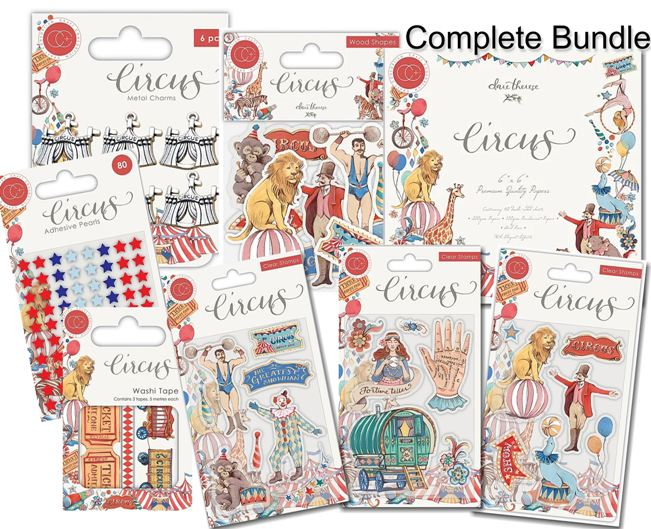 Circus clear stamps Fortune Teller  from Craft Consortium