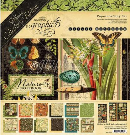 Graphic 45 Nature Notebook DeLuxe
