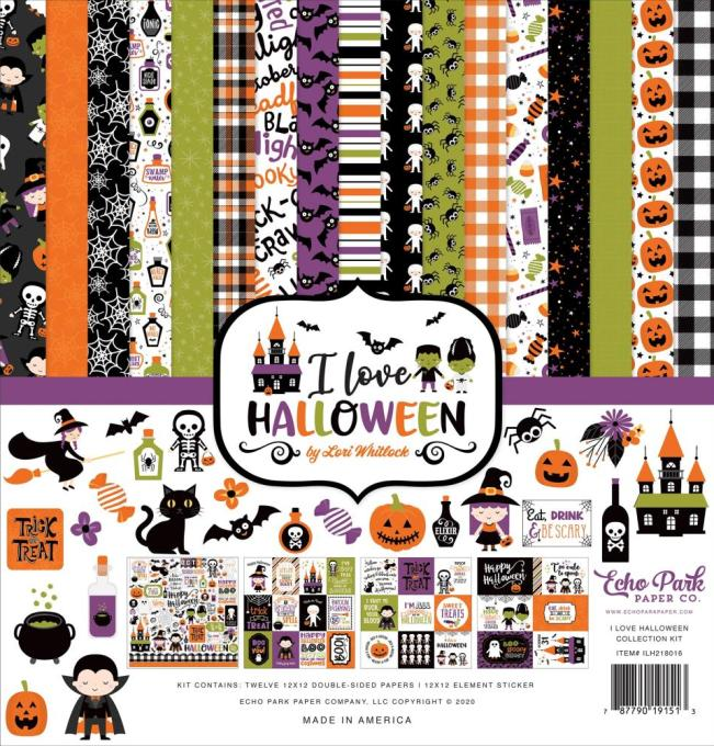 Echo park - I Love Halloween Collection Kit