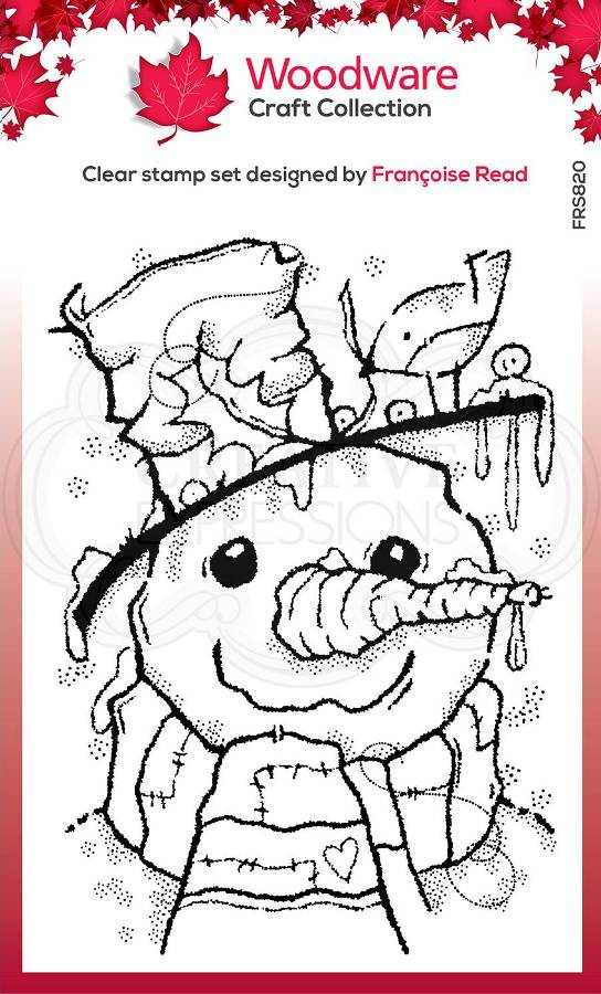 Woodware Clear Festive Stamps - MR FROSTY (FRS820)