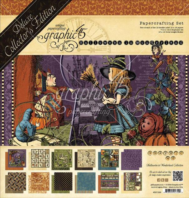 Graphic 45 Deluxe Collector's Edition - Halloween in Wonderland
