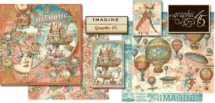 Graphic 45 Imagine Collection