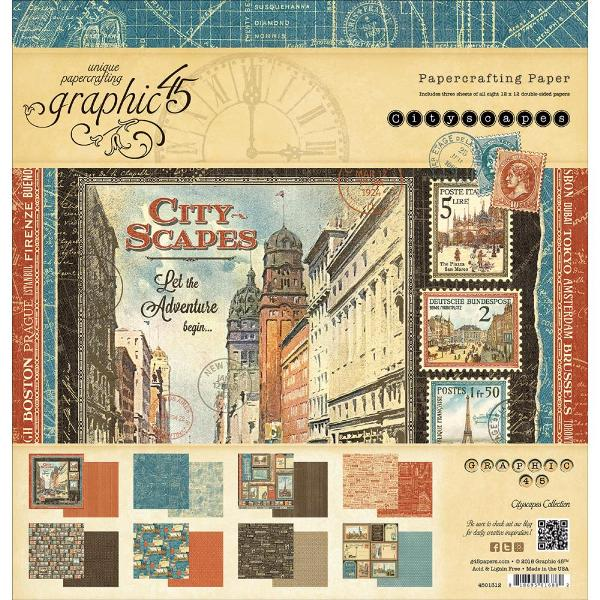 Graphic 45 Cityscapes 12