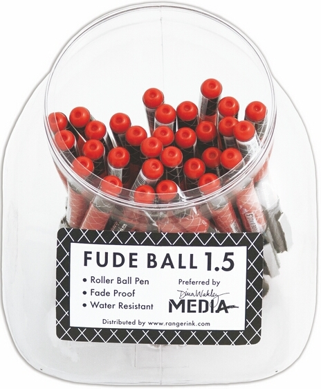 Ranger Ink Fude Ball Pen - RICH RED