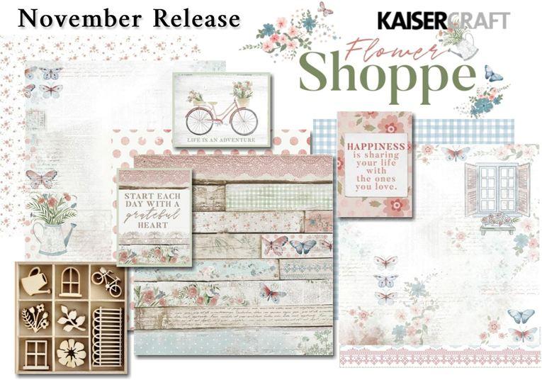 KAISERCRAFT FLOWER SHOPPE