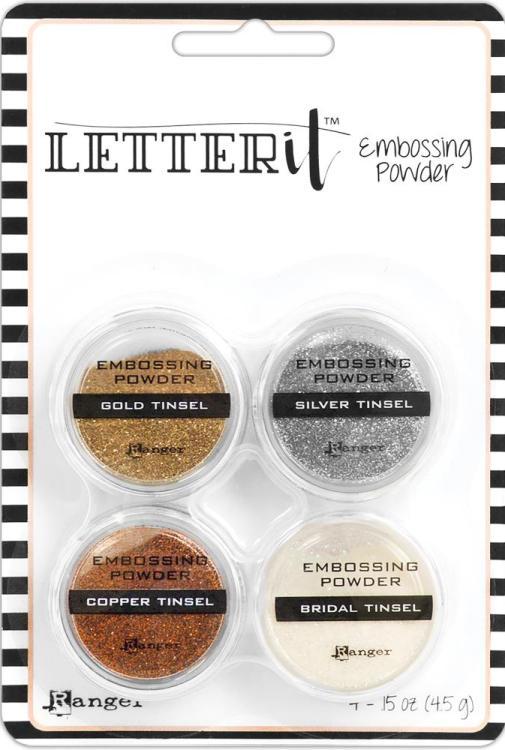 Ranger Letter It Pearls Powder Set-#2 Art Supplies Other Art Supplies