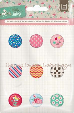 BasicGrey Hey Girl Collection Buttons and Brads