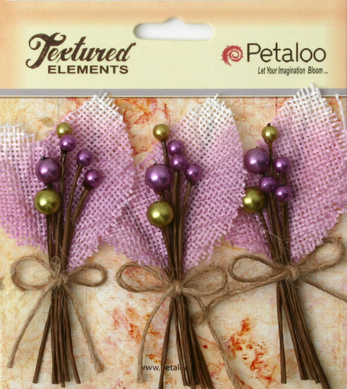 Petaloo Burlap Lavender Picks 1204207