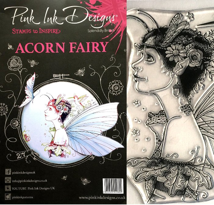 Pink Ink Designs Stamps ACORN FAIRY