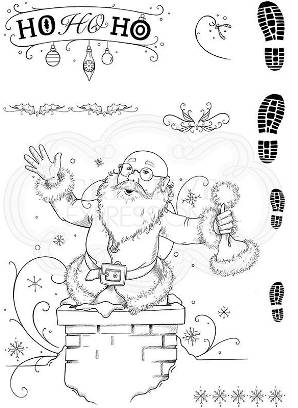 Pink Ink Just Be-Claus set