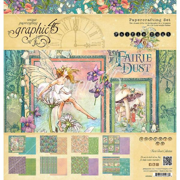 PRE-ORDER Graphic 45 Fairie Dust Collection Pack