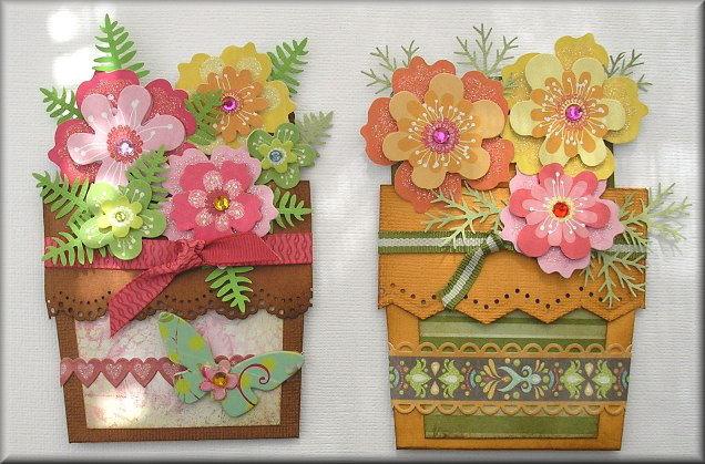 classes  flower pot card