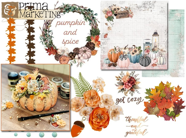 Prima Marketing Pumpkin & Spice