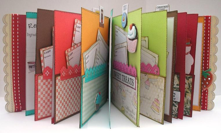 Charmed cards and crafts the blog christmas projects for How to make a book for a project
