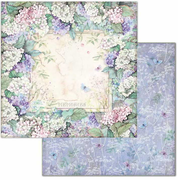 STP Paper Pad 12x12 Hortensia
