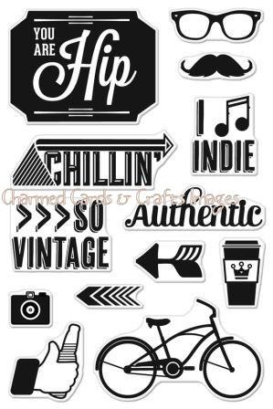 Basic Grey Amp Hero Art Stamps