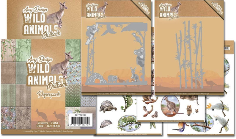 Amy Design Wild Animals Outback