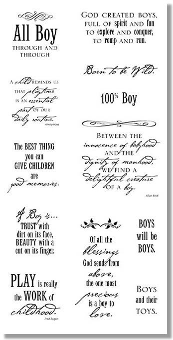 Boys Quotes - QwickStep Size:347x680