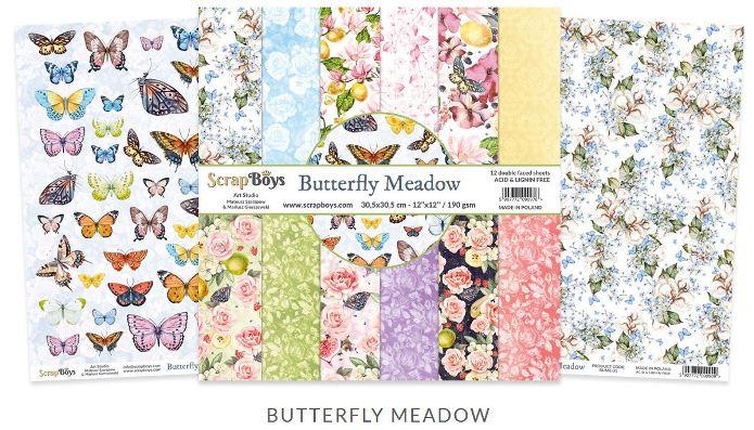 ScrapBoys Butterfly Meadow
