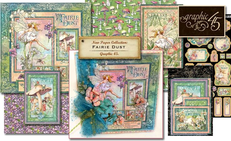 Graphic 45 Fairie Dust Collection