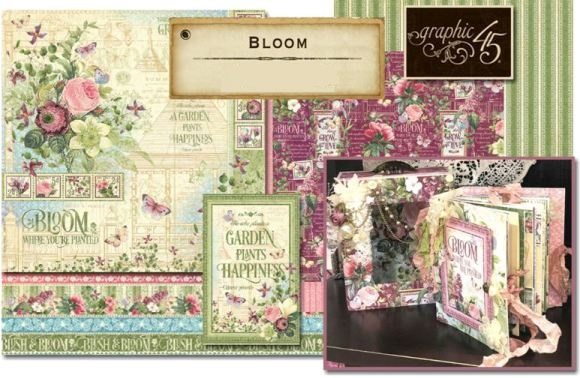 PRE-ORDER GRAPHIC 45 BLOOM