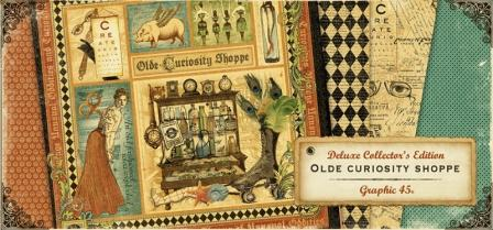 Graphic 45 Deluxe Collector's Edition - Olde Curiosity Shoppe