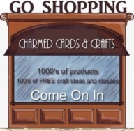 Come Shopping at Charmed Cards & Crafts for all your scrapbooking and card making supplies