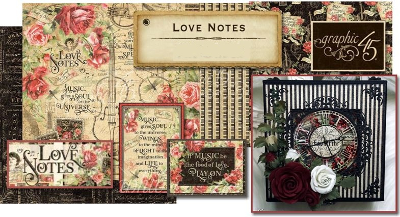 PRE-ORDER GRAPHIC 45 LOVE NOTES