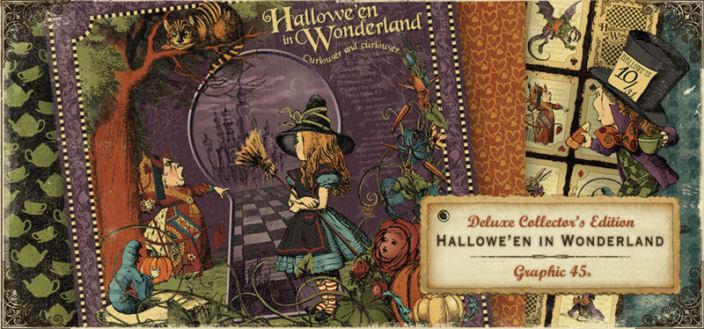 Graphic 45 Halloween In Wonderland