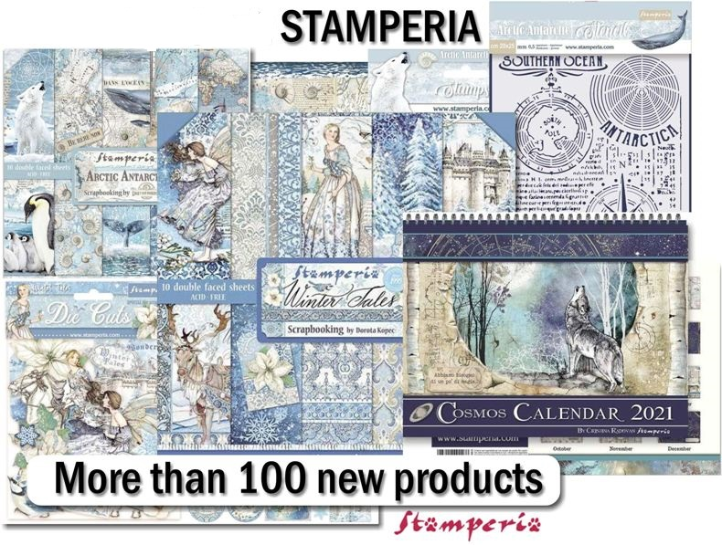 Stamperia Rice Papers July20