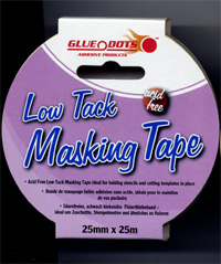 Charmed cards and crafts glue tape and 3d foam pads for Low tack tape for crafting