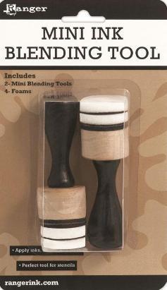 Ergonomic Solid Wood Handle CT21102 Pigment Inks Crafts Ink Applicator Foams