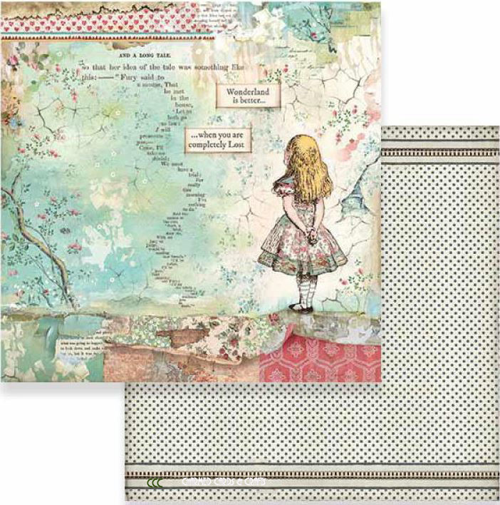 Stamperia Double-Sided Paper - ALICE
