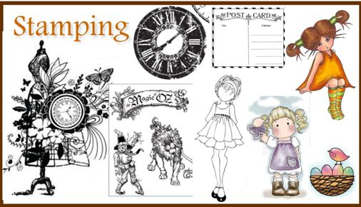 Stamping for card makers and scrappers