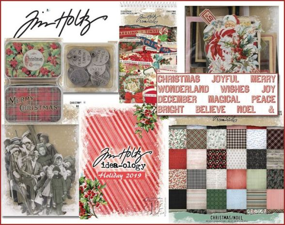 Tim Holtz Christmas 2019